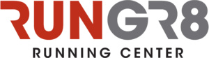 run gr8 running center logo