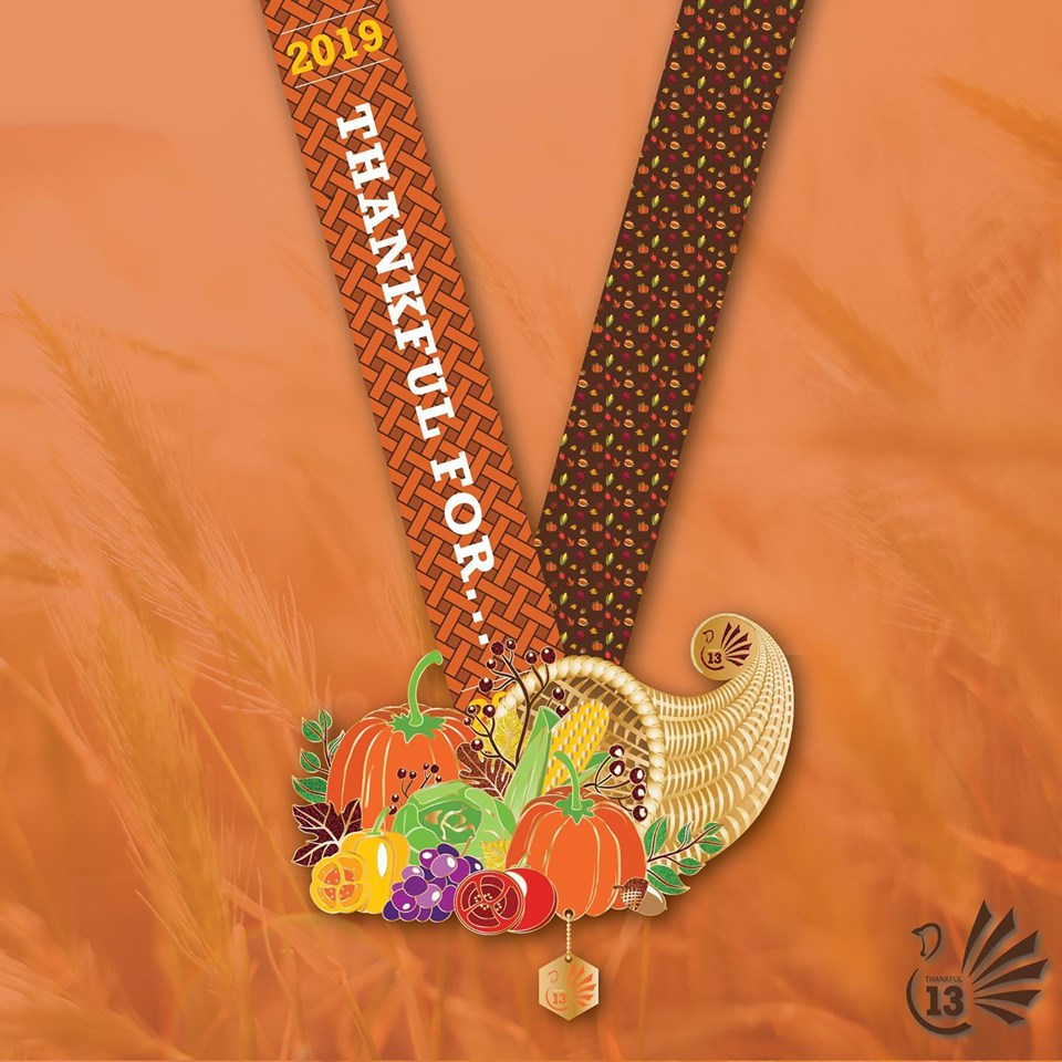 Thankful 13 Cornucopia Medal