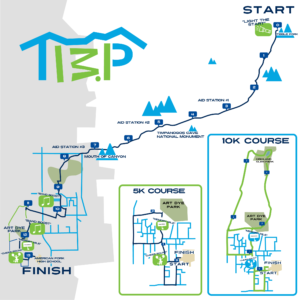 Timp Half Event Map