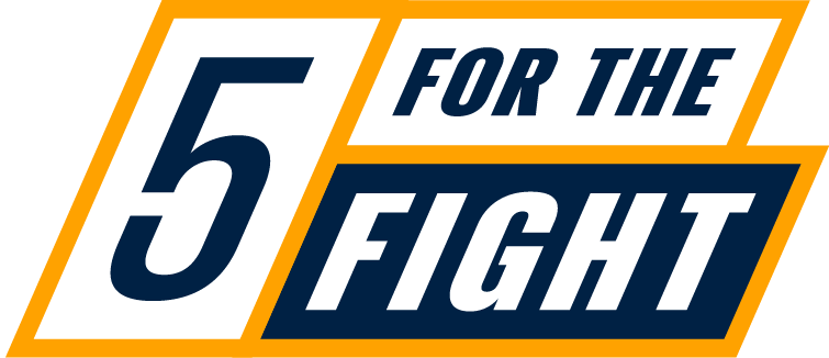 5 for the Fight Logo